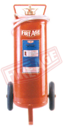 Water Co2 Fire Extinguisher Trolley Mounted